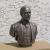Copy of Bronze Bust of  Dupont for 2nd hospital location. Fiberglass with Bronze coating.